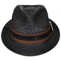 Mohican Toyo Straw Trilby Fedora Hat alternate view 2