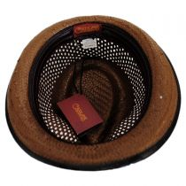 Mohican Toyo Straw Trilby Fedora Hat alternate view 16