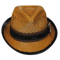 Mohican Toyo Straw Trilby Fedora Hat alternate view 18