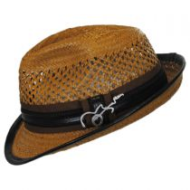 Mohican Toyo Straw Trilby Fedora Hat alternate view 19