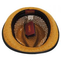 Mohican Toyo Straw Trilby Fedora Hat alternate view 20