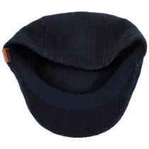 Herringbone Rib Wool Blend 507 Ivy Cap in