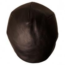 Lambskin Luxe Ascot Cap in