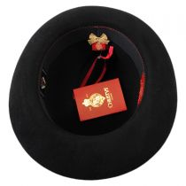 Foldaway Fur Felt Fedora Hat alternate view 4