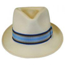 Tharp Shantung LiteStraw Fedora Hat in