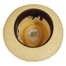 Continental Vent Grade 8 Panama Straw Fedora Hat in