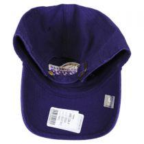 Los Angeles Lakers NBA Clean Up Strapback Baseball Cap Dad Hat alternate view 2