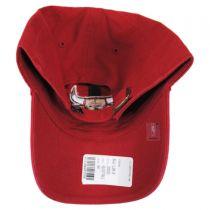 Chicago Bulls NBA Clean Up Strapback Baseball Cap Dad Hat alternate view 2