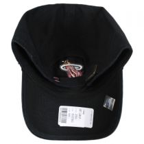 Miami Heat NBA Clean Up Strapback Baseball Cap Dad Hat alternate view 2