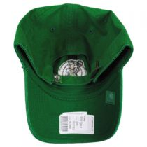 Boston Celtics NBA Clean Up Strapback Baseball Cap Dad Hat in