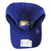 Golden State Warriors NBA Clean Up Strapback Baseball Cap Dad Hat alternate view 2