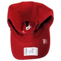 Houston Rockets NBA Clean Up Strapback Baseball Cap Dad Hat alternate view 2