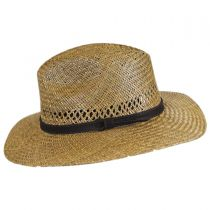 Childress Vent Seagrass Straw Safari Fedora Hat alternate view 3