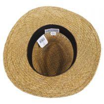 Childress Vent Seagrass Straw Safari Fedora Hat alternate view 4