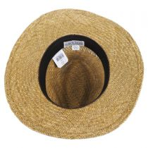 Childress Vent Seagrass Straw Safari Fedora Hat alternate view 12