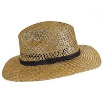 Childress Vent Seagrass Straw Safari Fedora Hat alternate view 15