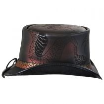 Balance Leather Top Hat in