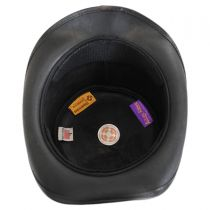 Shipwrecked Leather Top Hat in