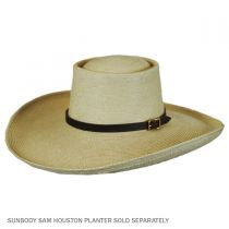 Leather Belt Hat Band alternate view 4