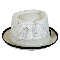 Vent Crown Toyo Straw Pork Pie Hat in