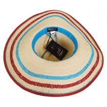 Cardenas Beach Toyo Straw Sun Hat in