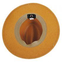 Augusta Toyo Straw Safari Fedora Hat alternate view 12