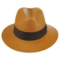 Augusta Toyo Straw Safari Fedora Hat in
