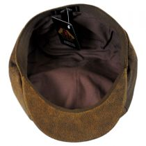 Leather Newsboy Cap alternate view 4