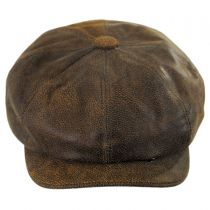 Leather Newsboy Cap alternate view 6