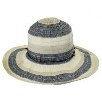 Three-Tone Ribbon Sun Hat alternate view 2