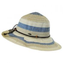 Three-Tone Ribbon Sun Hat alternate view 7