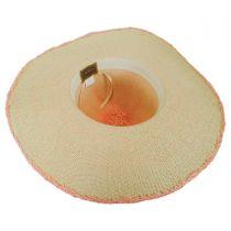 Boho Toyo Straw Wide Brim Swinger Hat alternate view 4