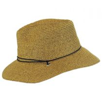 Kids' Chincord Toyo Straw Outback Hat in