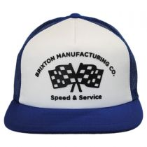 Burnout Mesh Trucker Snapback Baseball Cap in