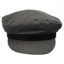 Bent Quilted Cotton Fiddler Cap alternate view 10