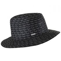 Davis Wheat and Toyo Straw Braid Fedora Hat in