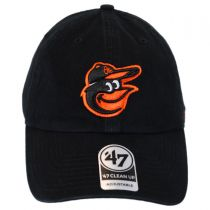 Baltimore Orioles MLB Clean Up Strapback Baseball Cap Dad Hat alternate view 2