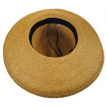 Bow and Kettle Brim Toyo Straw Fedora Hat alternate view 4