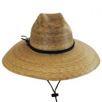 Palm Leaf Straw Lifeguard Hat alternate view 6