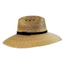 Palm Leaf Straw Lifeguard Hat alternate view 7