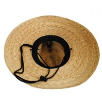 Palm Leaf Straw Lifeguard Hat alternate view 12