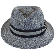 Cayo Straw Tear Drop Fedora Hat in