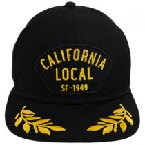 California Local Snapback Baseball Cap in