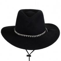 Black Foot Crushable Cowboy Hat