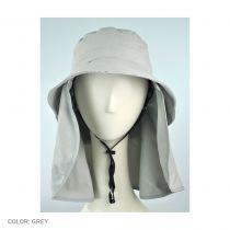 UV Protection Detachable Flap Bucket Hat