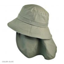 UV Protection Detachable Flap Bucket Hat in