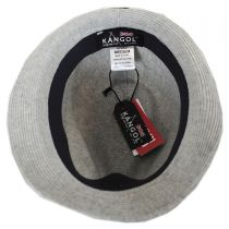 Rib Knit Cotton Blend Arnold Trilby Fedora Hat in