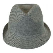 Rib Knit Cotton Blend Arnold Trilby Fedora Hat alternate view 6