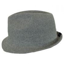 Rib Knit Cotton Blend Arnold Trilby Fedora Hat alternate view 7