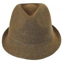 Rib Knit Cotton Blend Arnold Trilby Fedora Hat alternate view 2